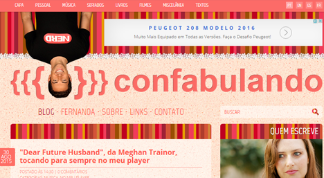 Confabulando - Blog Day 2015
